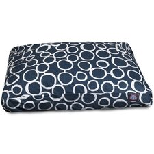Fusion Rectangle Pet Bed with Waterproof Denier Base