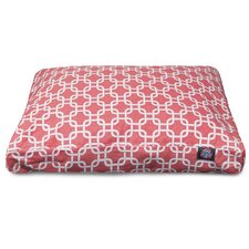 Links Rectangle Pet Bed with Waterproof Denier Base