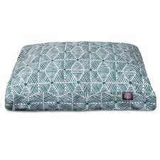 Charlie Rectangle Pet Bed with Waterproof Denier Base