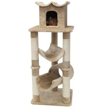 "47"" Casita Fur Cat Condo"