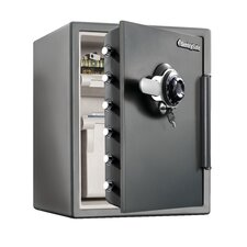 Water Resistant Combination Lock Fire Safe 2.05 CuFt