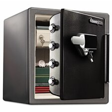 Fireproof Touchscreen with Alarm Lock Security Safe 1.23 CuFt