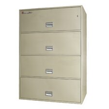 4-Drawer Fireproof Key Lock Key Lock File Safe