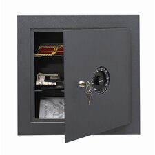 Dial Lock Wall Safe (0.4 Cu. Ft.)