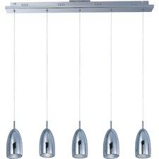 Bullet 5-Light LED Pendant