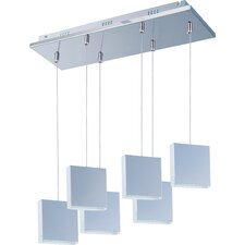 Brick 6-Light LED Pendant