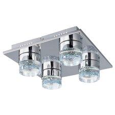 Fizz IV 4-Light LED Flush Mount