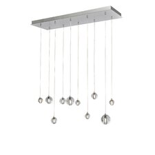 Harmony 10-Light LED Cascade Pendant