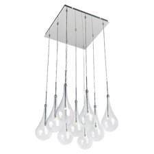 Larmes 9-Light LED Pendant