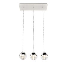 Reflex 3-Light LED Pendant