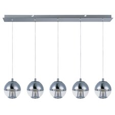 Reflex 5-Light LED Pendant