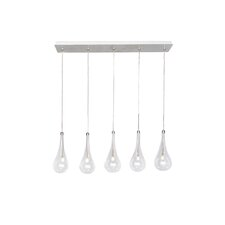 Larmes 5-Light LED Pendant