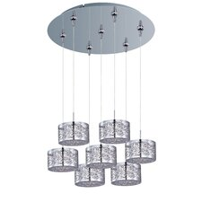 Inca 7-Light RapidJack Pendant and Canopy