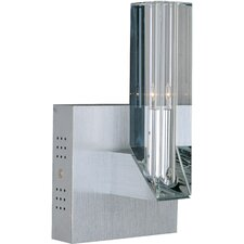 Alpha-V Wall Sconce in Brushed Aluminum