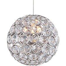 Brilliant 1 Light Globe Pendant