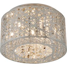 Inca 7 Light Flush Mount