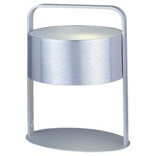 "Percussion 13"" H 1 Light Table Lamp with Drum Shade"