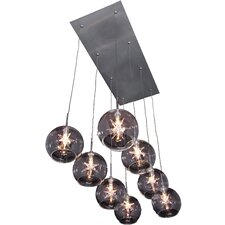 Starburst 8-Light Pendant
