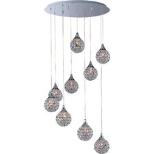 Brilliant 9-Light Pendant