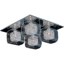 Gem 4-Light Flush Mount with SV Shade