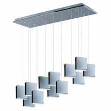 Brick 12-Light LED Pendant