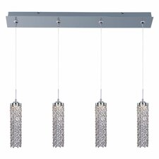 Shanell 4-Light LED RapidJack Pendant and Canopy