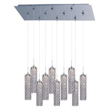 Shanell 10-Light LED RapidJack Pendant and Canopy