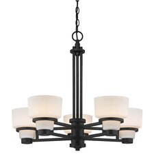 Saxon 5 Light Chandelier