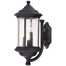 Walnut Grove 3 Light Wall Lantern