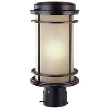 La Mirage 1 Light Outdoor Post Light