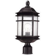 "Barlow 1 Light 17.5"" Outdoor Post Lantern"