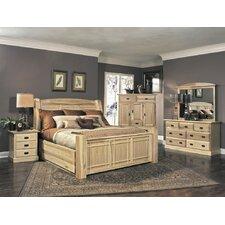 Amish Highland Panel Customizable Bedroom Set
