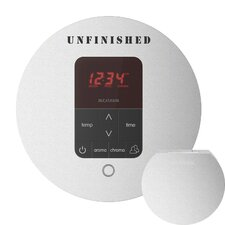 iTempo Plus Round Shower Thermostat and Steamhead
