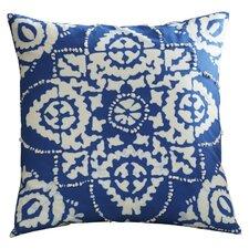Clarktown Cotton Sheeting Throw Pillow