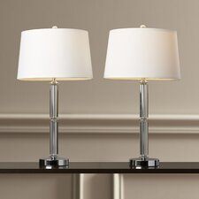 """Horne 29.5"""" H Table Lamp with Empire Shade (Set of 2)"""