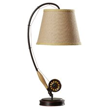 "Cromwell 27.5"" H Table Lamp with Empire Shade"