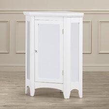 """Langport 24.75"""" x 32"""" Mirrored Corner Free Standing Cabinet"""