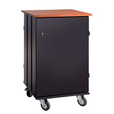 32-Compartment Tablet Charging and Storage Cart