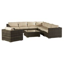 Kloss 9 Piece Deep Seating Group with Cushion