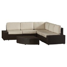 Bradley Junction 6 Piece Lounge Seating Group with Cushions