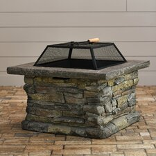 "Purcell 18"" Iron Wood Fire Pit"