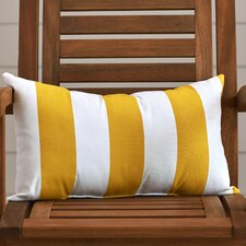 Brino Vertical Stripe Indoor/Outdoor Lumbar Pillow