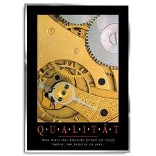 Qualität Poster