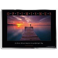 Optimismus Poster