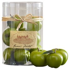 Fae Decorative Green Apple (Set of 12)