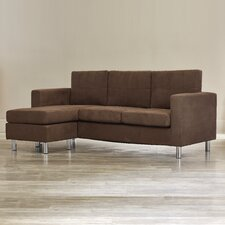 Lutz Small Spaces Configurable Sofa Sectional