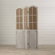 """Ivraie 71"""" x 48"""" Folding 3 Panel Room Divider"""