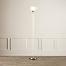 "Deerfield 70"" Floor Lamp with Glass Shade"