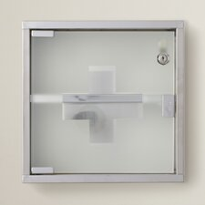 "Park Row 11.8"" x 11.8"" Surface Wall Mounted Medicine Cabinet"