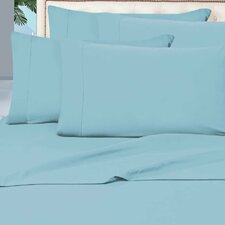 4 Piece 1500 Thread Count Microfiber Bed Sheet Set